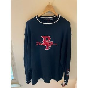 Phat Farm Sweater Blue Red